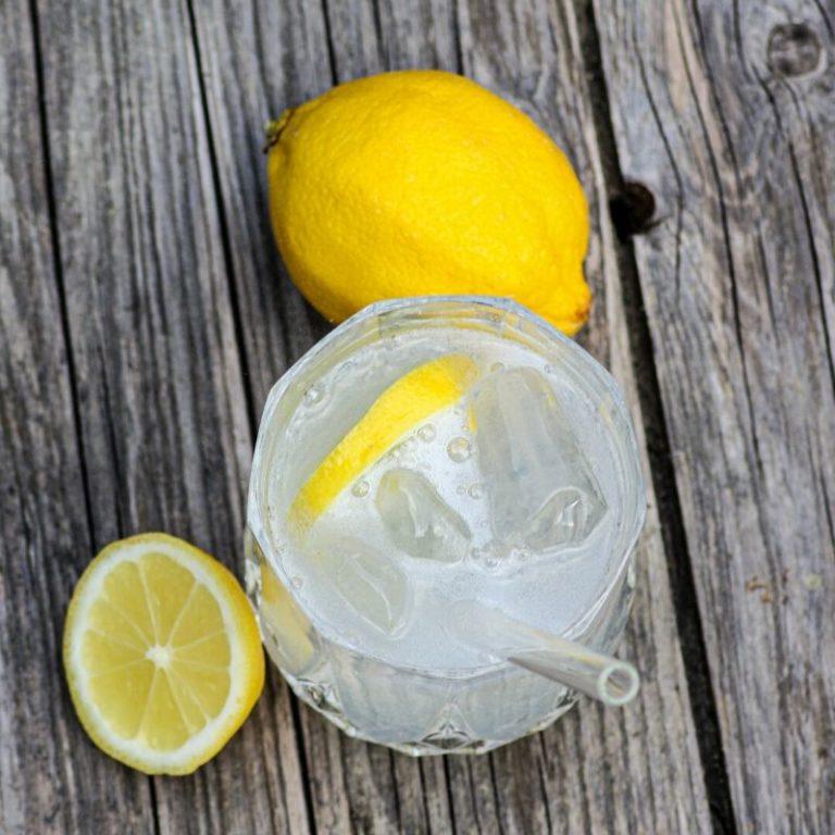 Vodka Lemon Cocktail der Destillerie Schnitzer aus Traunstein