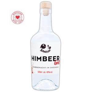 Chiemgauer Himbeergeist Frontansicht 500ml Destillerie Schnitzer