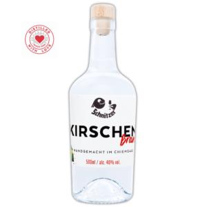 Chiemgauer Kirschenbrand Frontansicht 500ml Destillerie Schnitzer