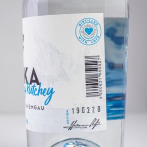 Vodka Holodny Rutchey 500ml Etikett1 Destillerie Schnitzer