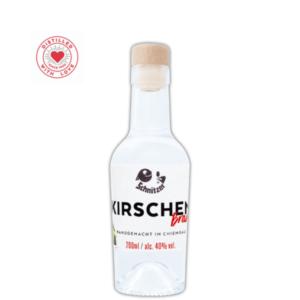 Chiemgauer Kirschenbrand 200ml Frontansicht Destillerie Schnitzer