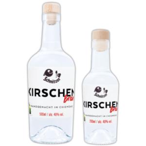 Chiemgauer Kirschenbrand in der Übersicht Destillerie Schnitzer