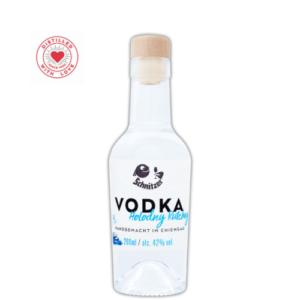 Chiemgauer Vodka 200ml Frontansicht Destillerie Schnitzer