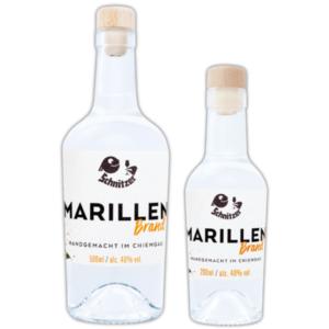 Chiemgauer Marillenbrand in der Übersicht Destillerie Schnitzer