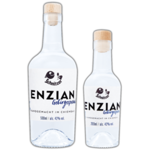 Chiemgauer Enzian in der Übersicht Destillerie Schnitzer