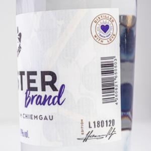 Tresterbrand 500ml Detailfoto Etikett1 Destillerie Schnitzer
