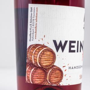Chiemgauer Weinbrand 500ml Etikett 1 Destillerie Schnitzer