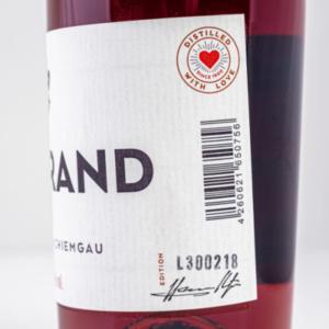 Chiemgauer Weinbrand 500ml Etikett 2 Destillerie Schnitzer