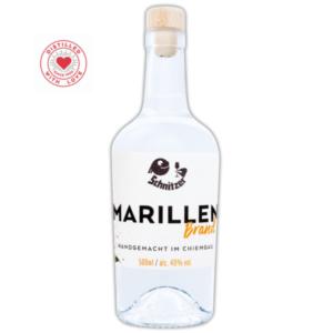 Chiemgauer Marillenbrand Frontansicht 500ml Destillerie Schnitzer