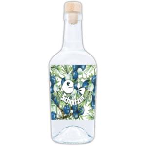 Chiemgauer Gin Rückseite