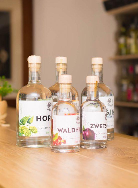Hofladen Destillerie Schnitzer, Produkte
